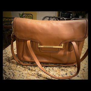 Coach leather Tan bag